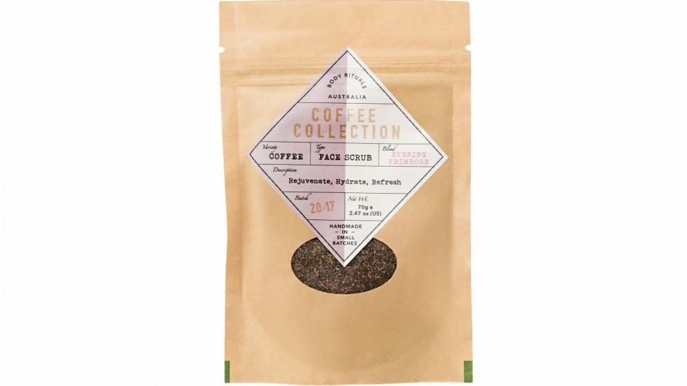 Robert Mark Coffee Collection 70gm Vanilla Face Scrub with Evening Primrose Oil
