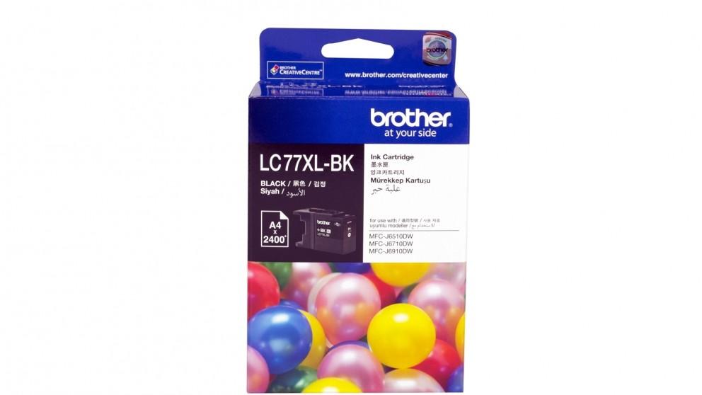 Brother LC-77XLBK Black Ink Cartridge