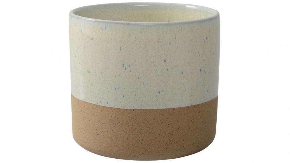 Habitat101 Lille 20.2x18cm Planter Pot - Cream