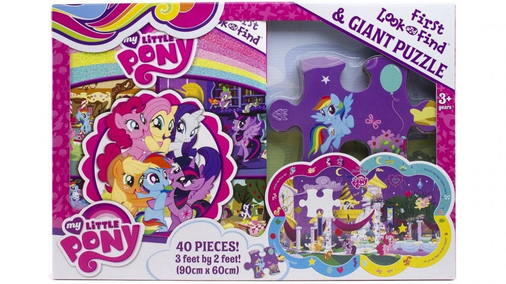 My Little Pony First Look and Find Giant Puzzle