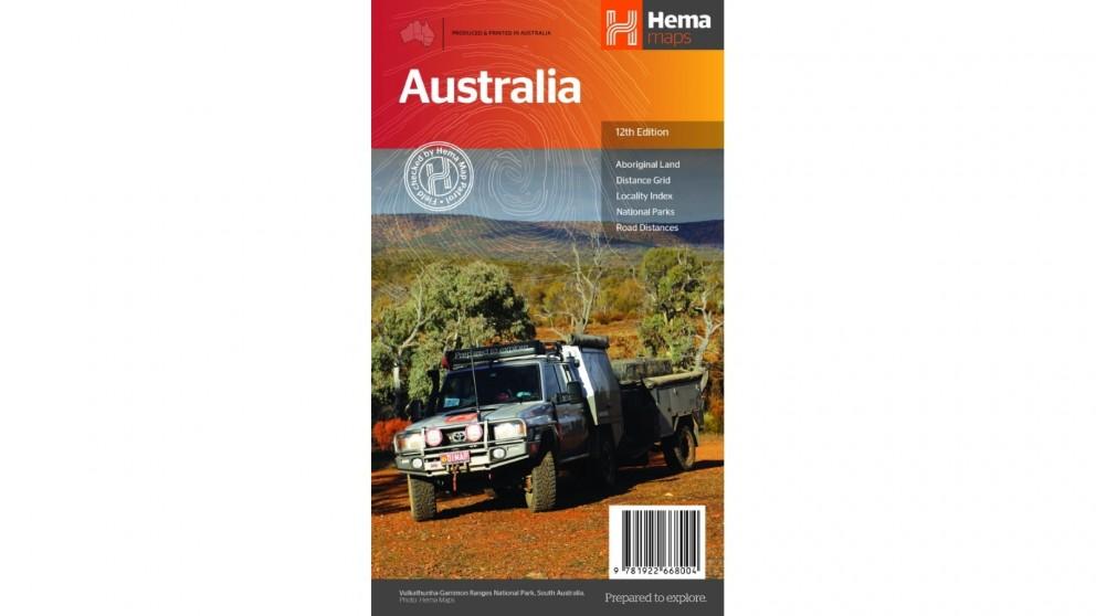 Hema Maps Australia Large Map - Folded