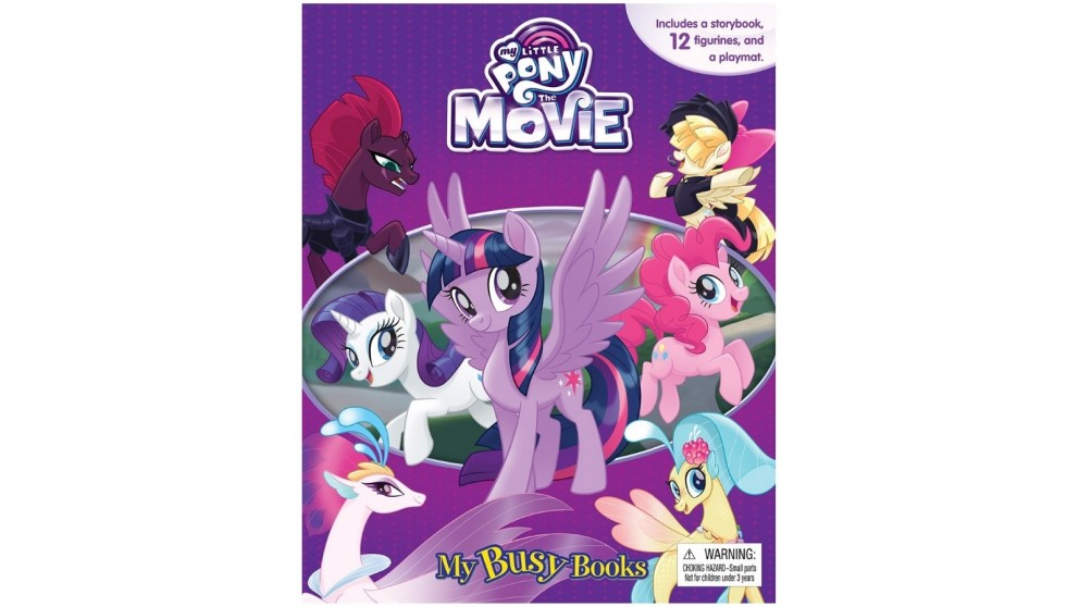 My Little Pony The Movie My Busy Books