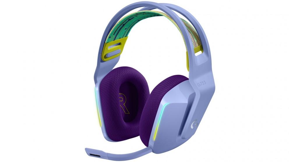 Logitech G733 LIGHTSPEED Wireless RGB Gaming Headset - Lilac