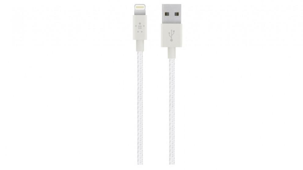 Belkin Premium 1.2m Lightning Cable - White