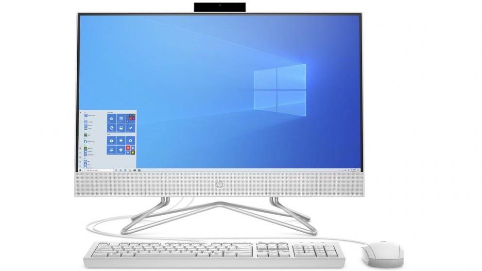 HP 23.8-inch Athlon 3050U/4GB/128GB SSD All in One Desktop