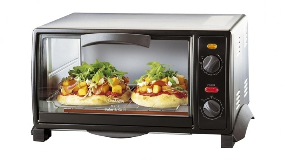 sunbeam mini bake grill compact oven compact ovens