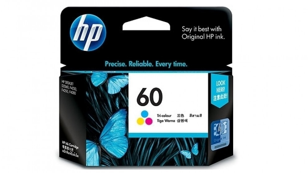 HP 60 Tri Colour Ink Cartridges