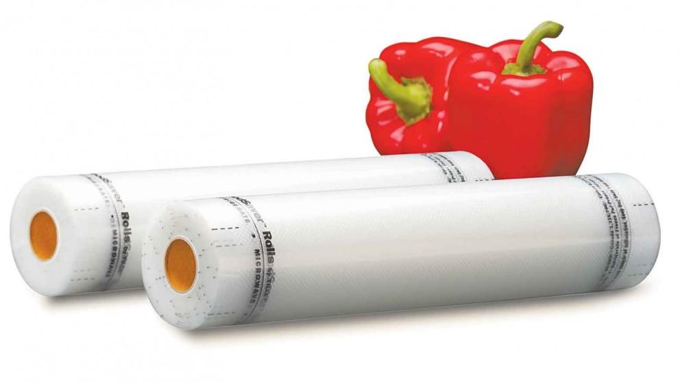 FoodSaver® 280mm Vacuum Sealer Rolls - 2 Pack
