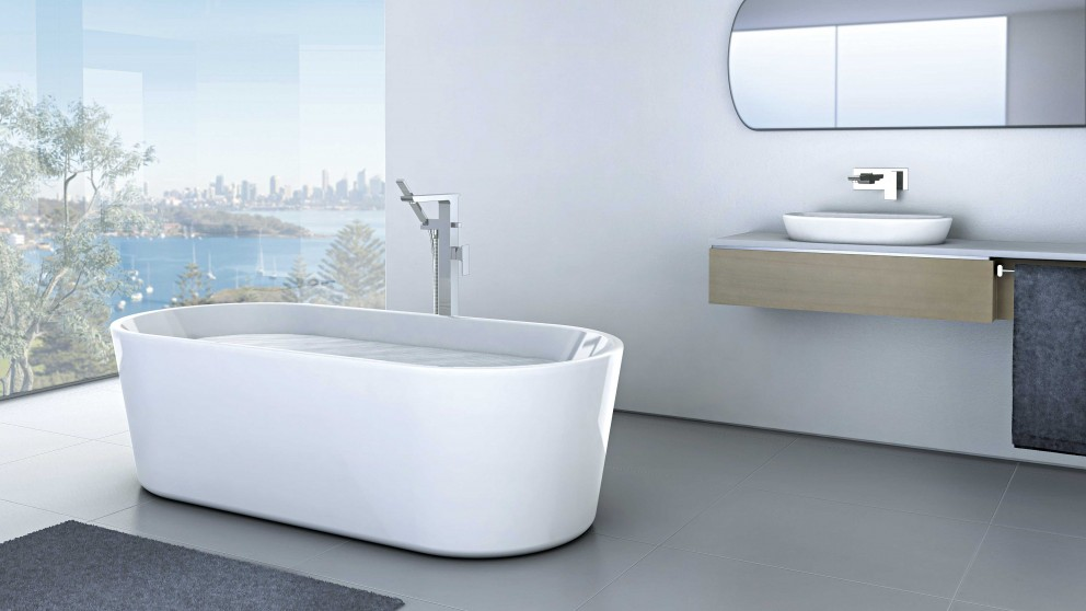 Buy Caroma Aura 1600 Freestanding Bath Harvey Norman Au