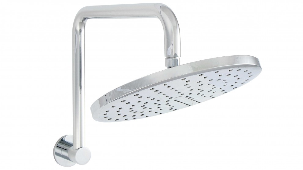Linsol Corsica Round Shower Head and Arm