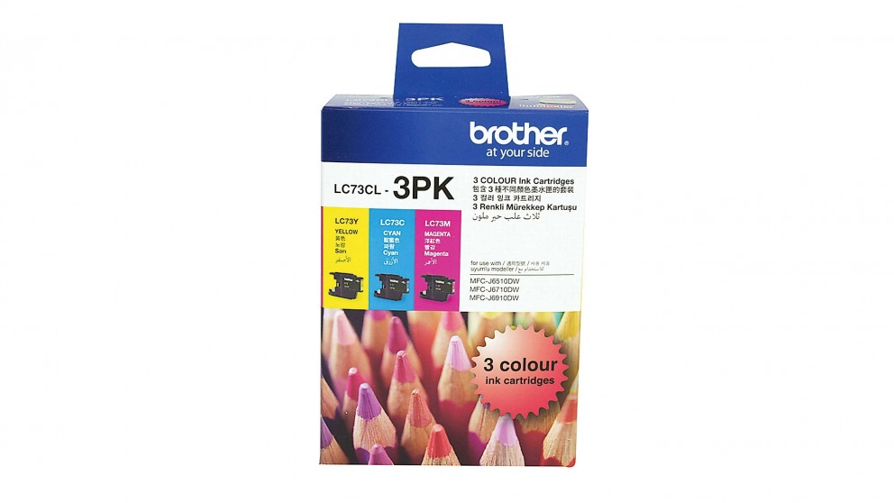 Brother LC73 Colour Value Ink Pack