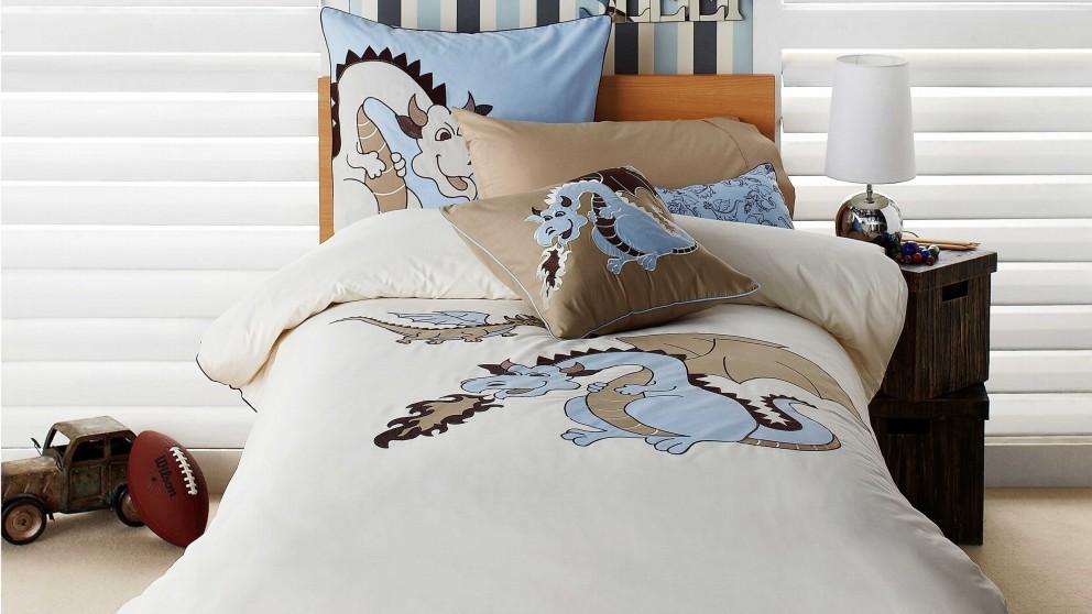 Buy Dragons Blue Single Quilt Cover Set Harvey Norman Au