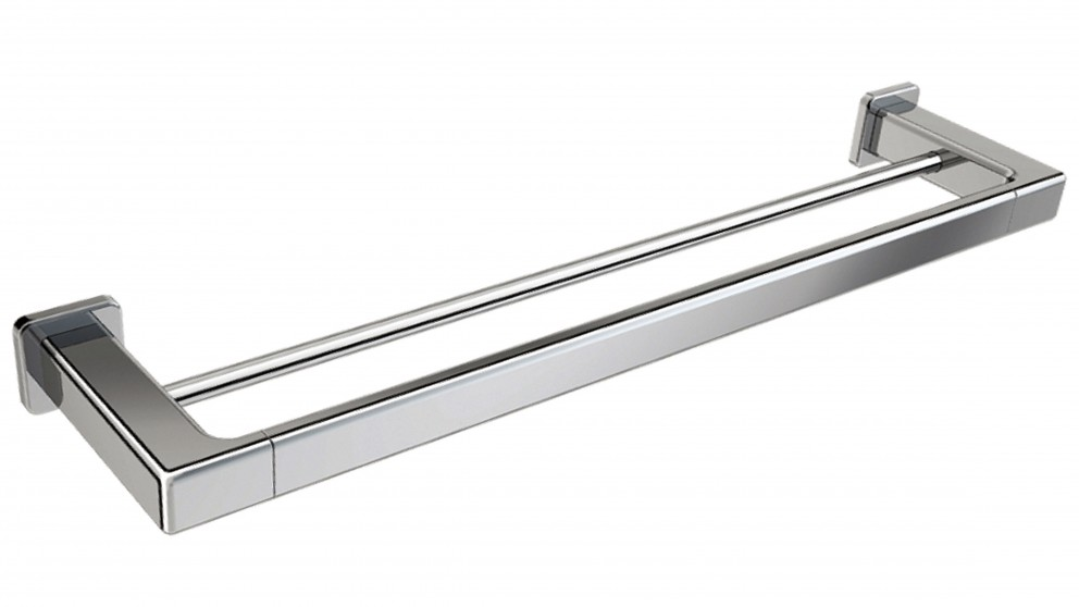 pld edge 750mm double towel rail