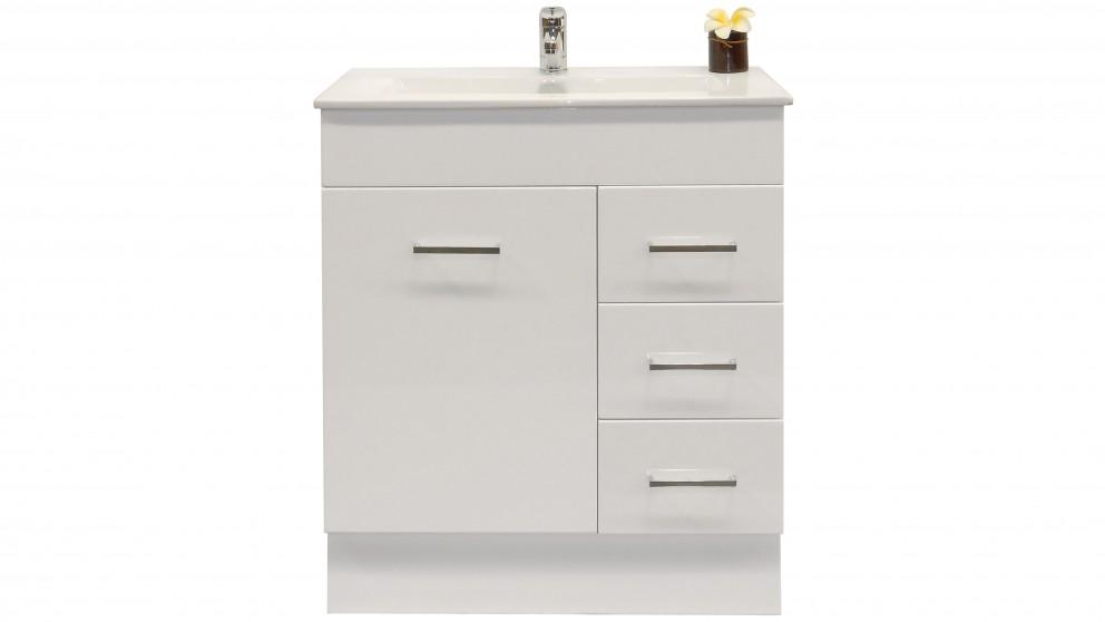 Vanity Bathroom Harvey Norman ledin linda 750 console ensuite vanity - bathroom vanities
