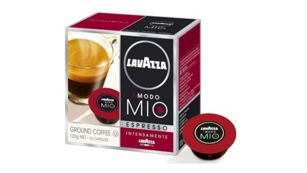 buy lavazza a modo mio intenso coffee capsules 16 pack. Black Bedroom Furniture Sets. Home Design Ideas