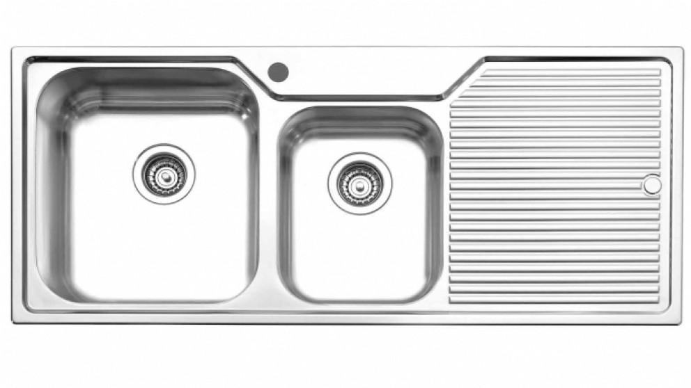 Oliveri Nu Petite 80cm Left Hand Bowl Sink - Sinks - Sinks & Taps ...