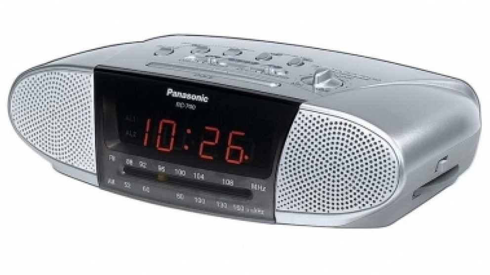 panasonic clock radio radios sound systems headphones audio music harvey norman australia. Black Bedroom Furniture Sets. Home Design Ideas