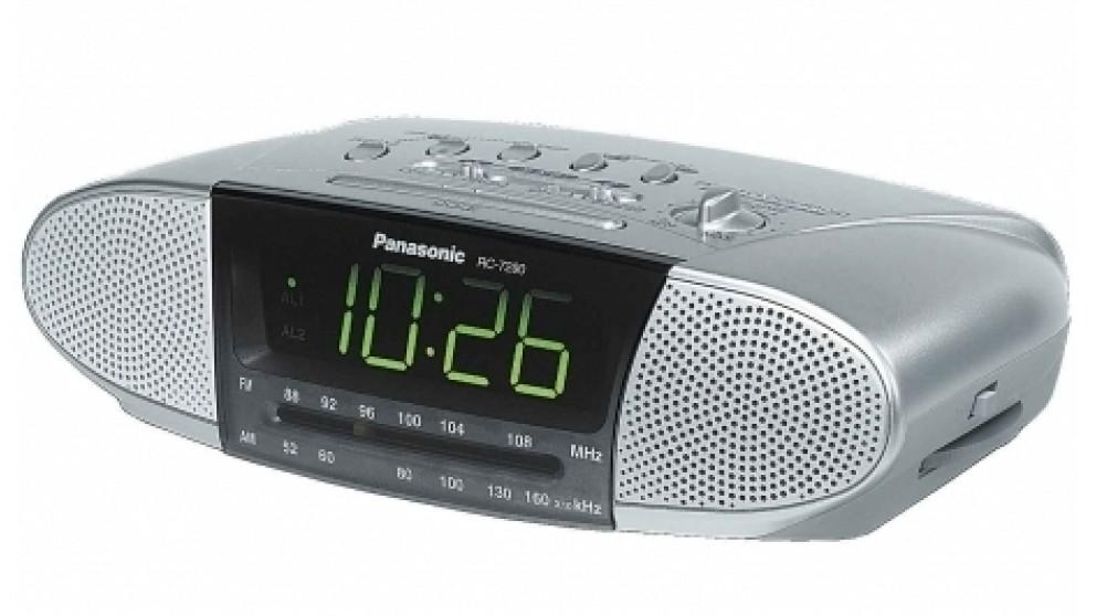 Panasonic Dual Speaker Clock Radio