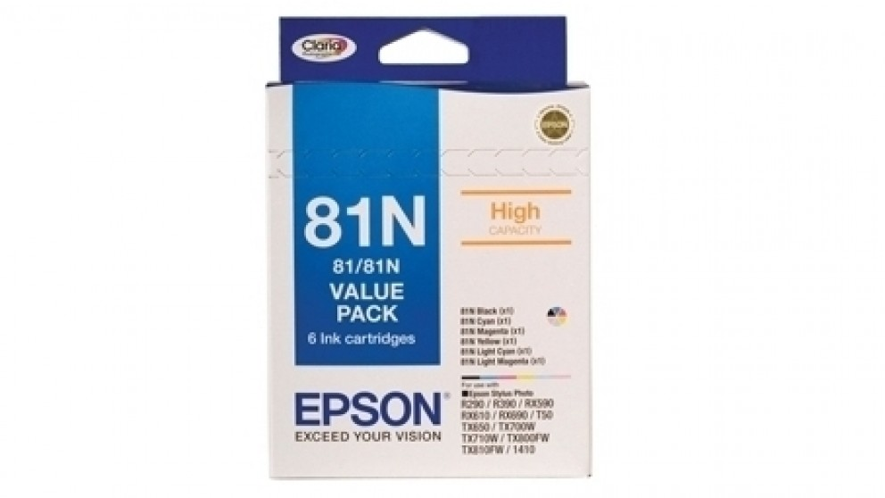 Epson 111 81N - High Capacity Claria Value Pack