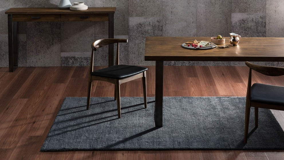 Hanna Dark Grey Medium Rug