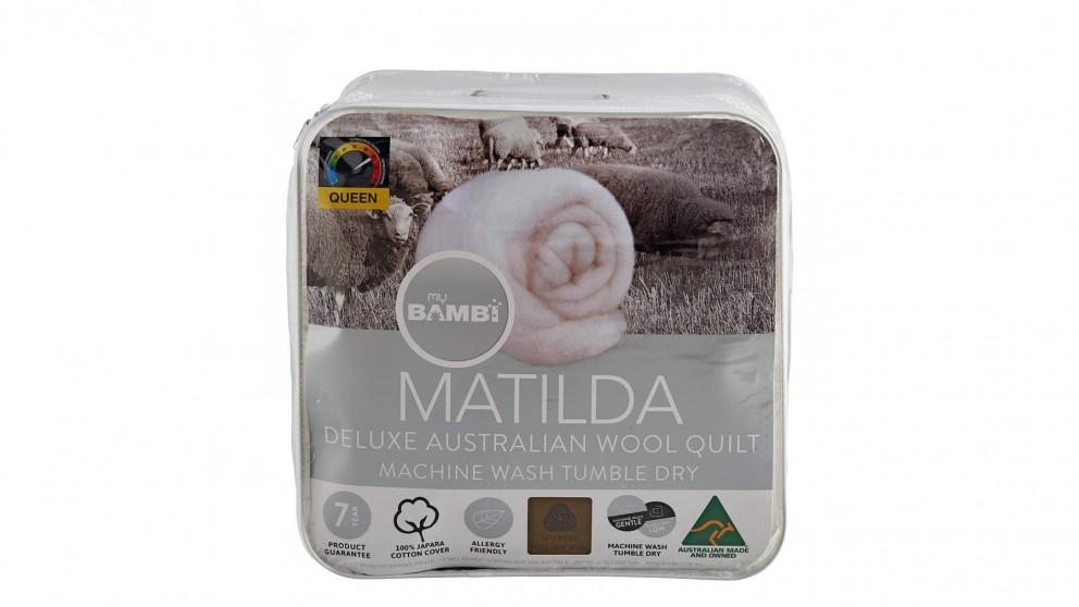 Matilda Woolmark Gold Label Superloft King Quilt