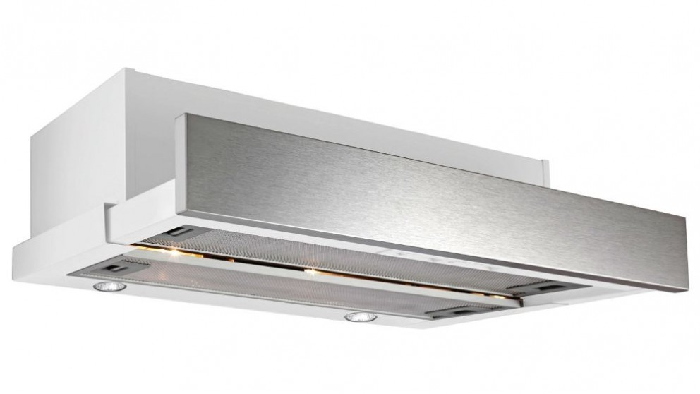 Omega 60cm Slide Out Stainless Steel Rangehood
