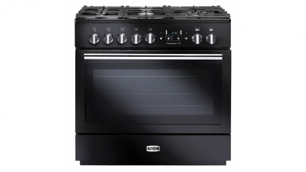 Falcon Professional+ FX 90cm Dual Fuel Freestanding Cooker - Black