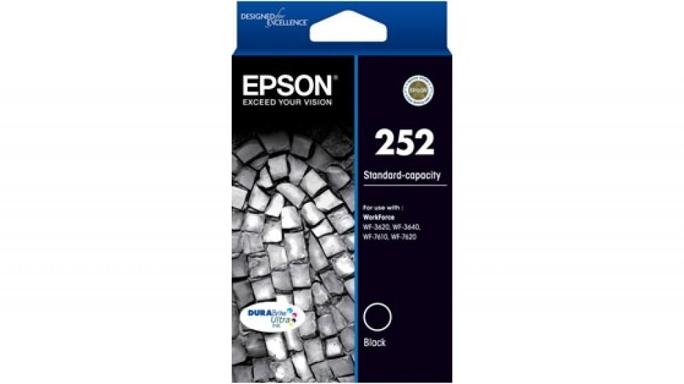 Epson 252 Durabrite Ink Cartridge - Black