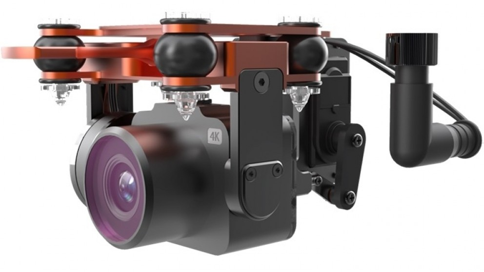 SwellPro PL3 Payload Release with Stabilization Gimbal and 2.7K Camera