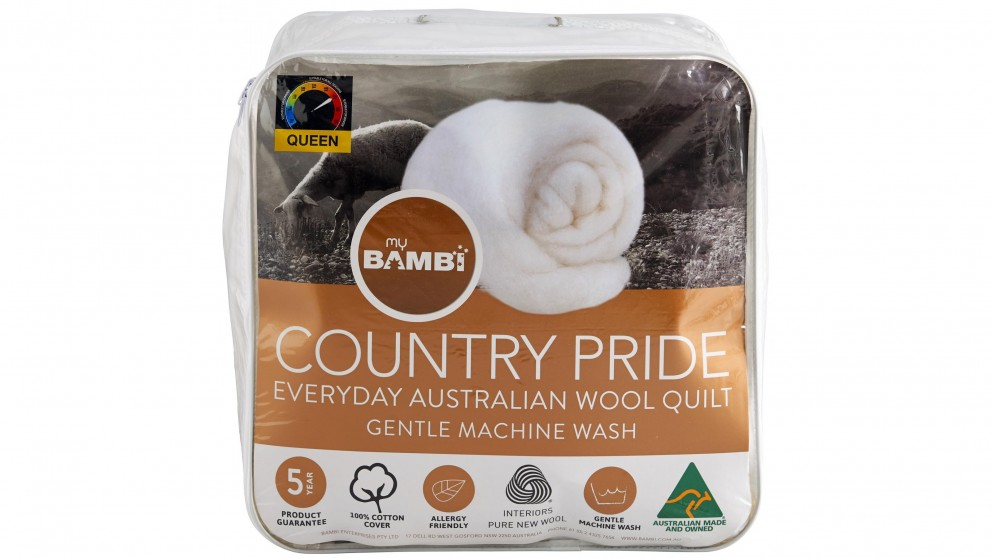 Country Pride Light Loft Wool Quilt