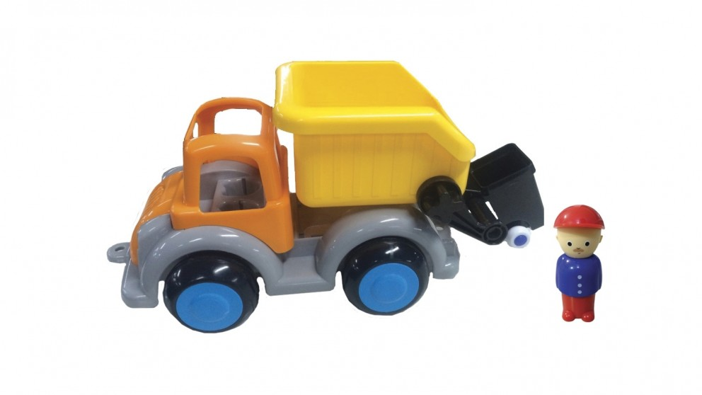 Viking Toys Jumbo Garbage Truck with 1 Figure