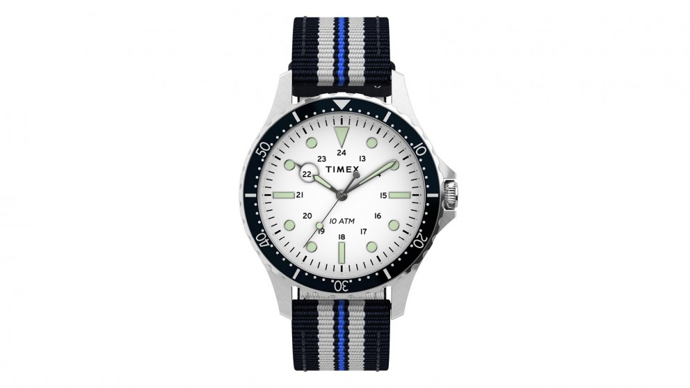 TIMEX Navi XL41mm Fabric Strap Watch