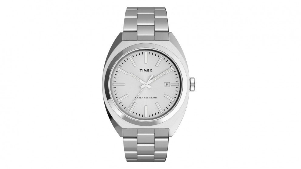 TIMEX Milano XL 38mm Stainless Steel Bracelet Watch - Silver Tone