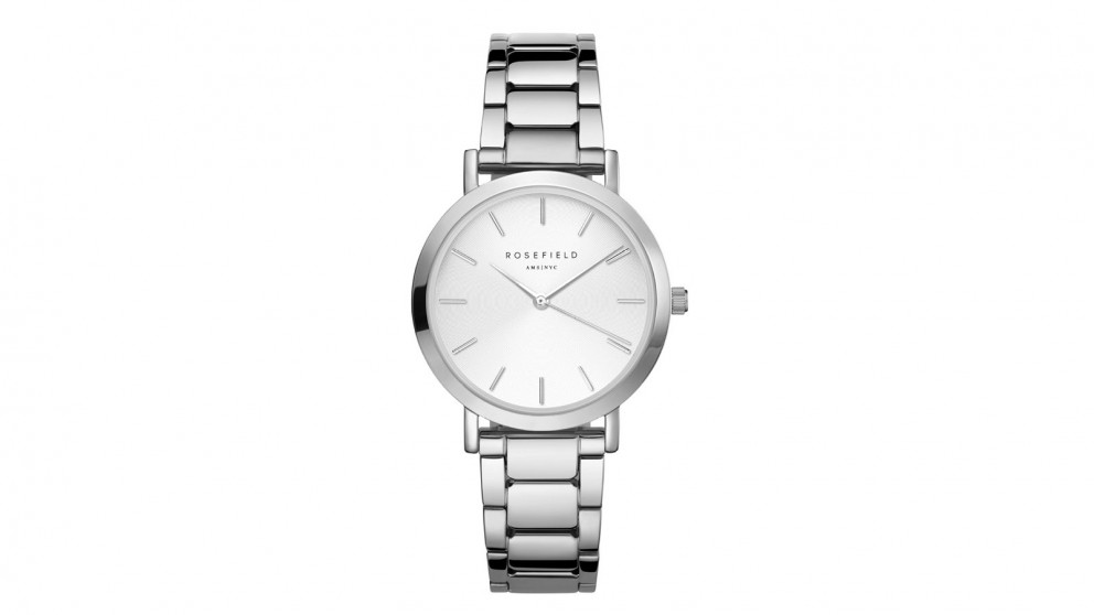 Rosefield Tirbeca Bracelet Watch - Silver Tone
