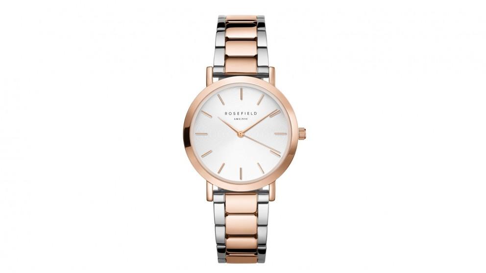 Rosefield Tribeca Bracelet Watch - Rose Gold/Silver Tone