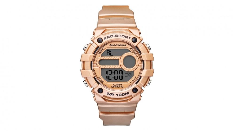 Maxum Nugget Digital Watch - Bronze