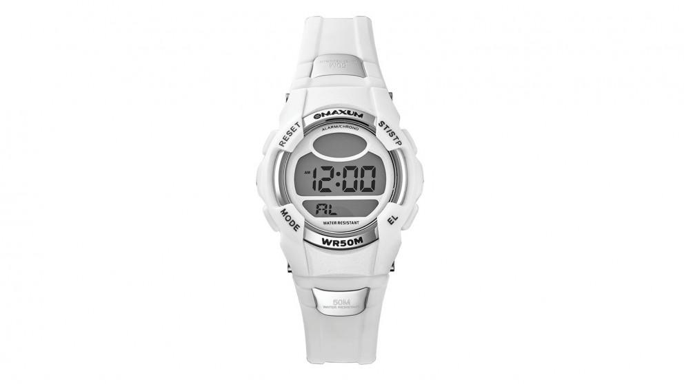 Maxum Crush Digital Watch - White/Silver