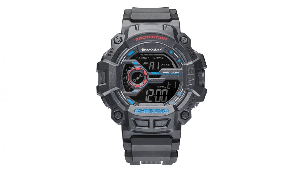 Maxum Renegade Digital Watch - Black