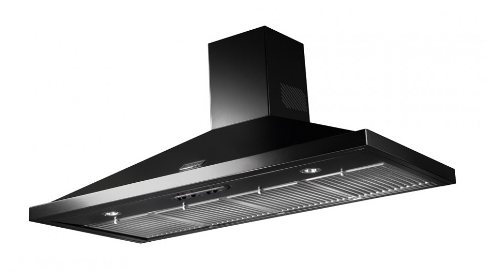 Falcon 1100mm Canopy Rangehood - Black
