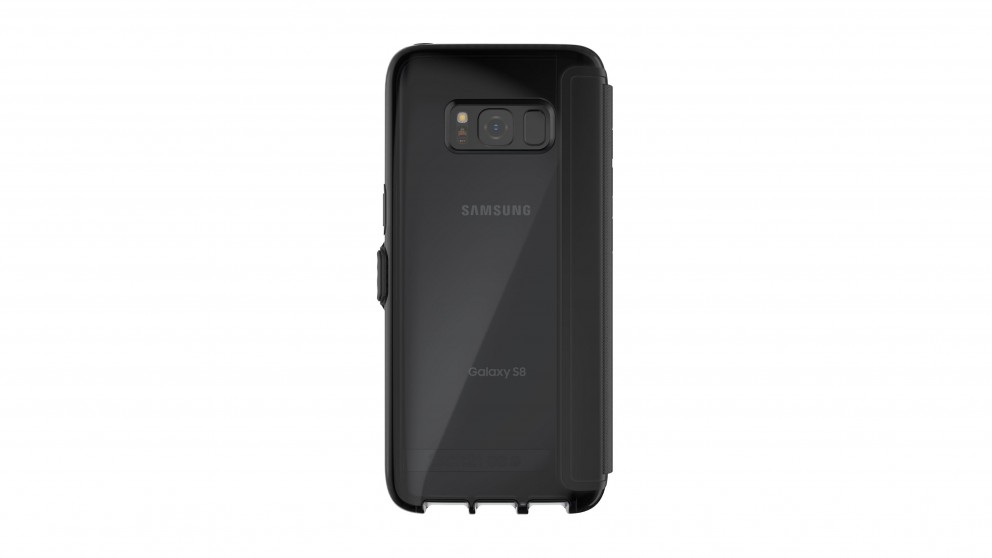 Tech21 Evo Wallet Case for Samsung Galaxy S8 - Black