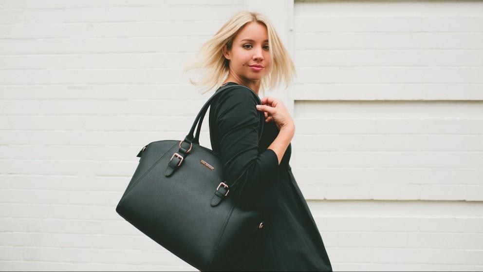Code Republic Sonya Luxe Tech Handbag - Black