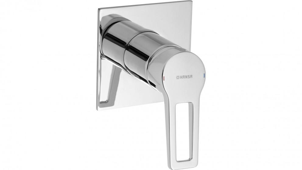 Hansa Twist Loop Quad Shower or Bath Mixer with In-Wall Body