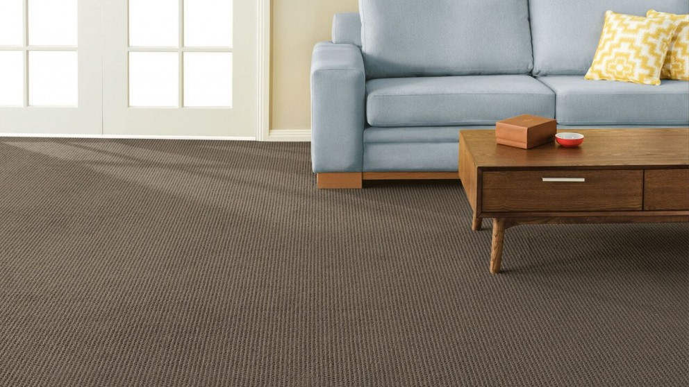 SmartStrand Forever Clean Natural Intuition Cocoa Carpet Flooring