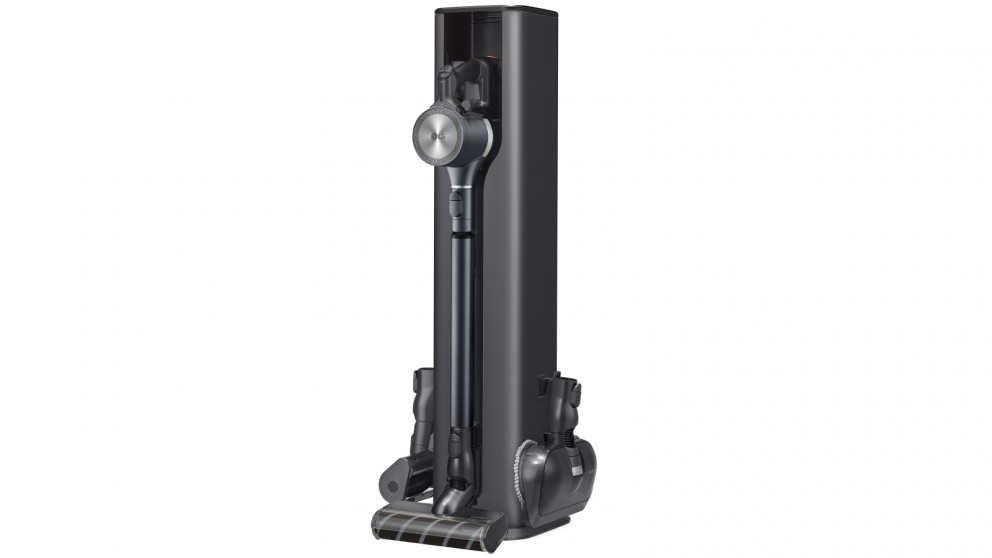 LG Cord Zero A9 Ultra Handstick Vacuum with All-in-One Tower - Iron Grey