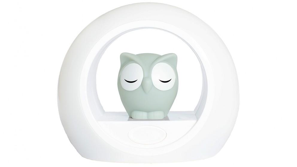 Zazu Lou the Owl Night Light - Grey