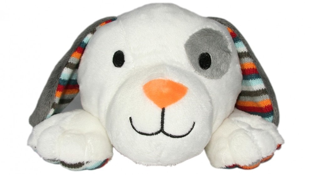 Zazu Dex the Dog Plush Toy Comforter with Heartbeat Sound