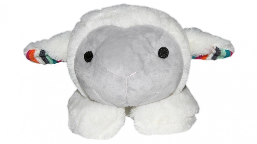 Zazu Liz the Lamb Plush Toy Comforter with Heartbeat Sound
