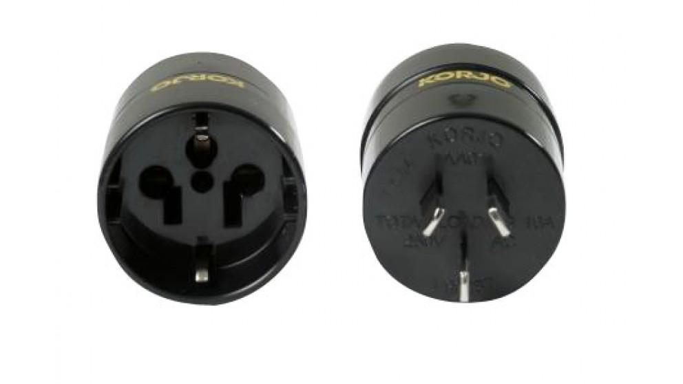 Korjo EU/US Adapter for Australia