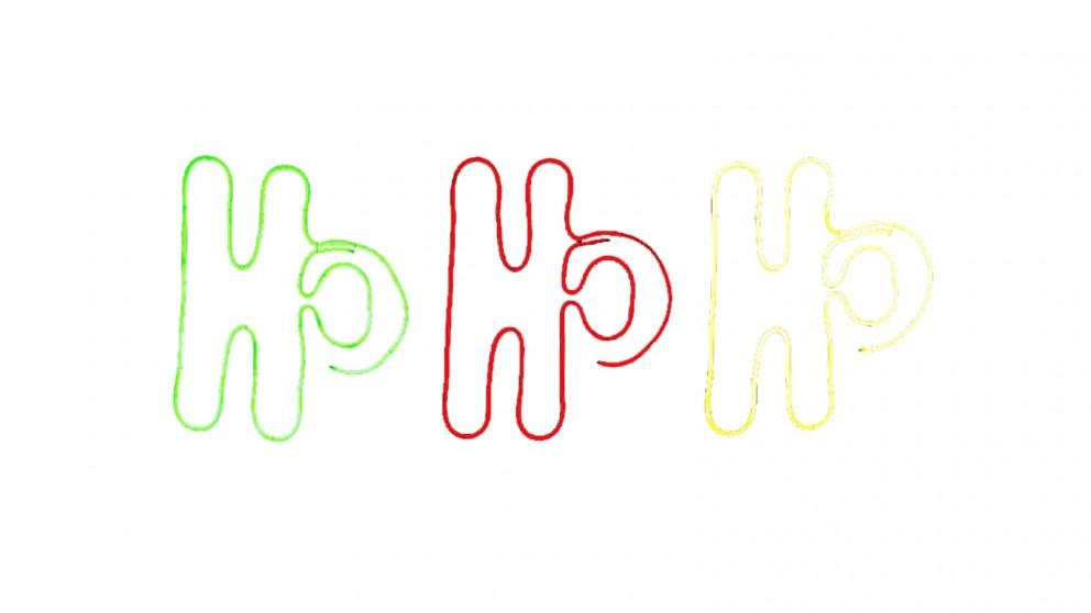 Lexi Lighting Neon Flex Stake Light - Ho Ho Ho - Set of 3