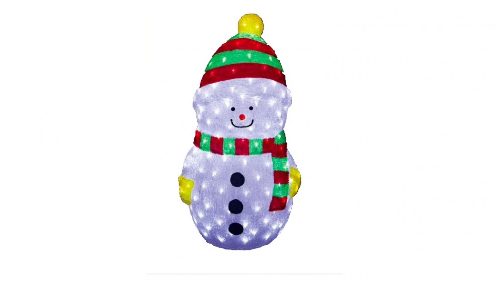 Lexi Lighting Acrylic LED Snowman - Small